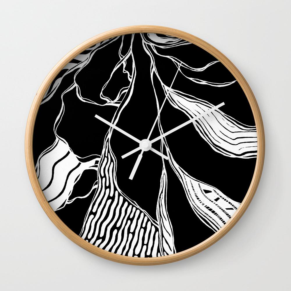 Winding Roots Wall Clock by Adamatilda CLK8998229
