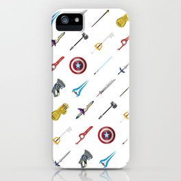 Fantasy Weapons Pattern iPhone Case