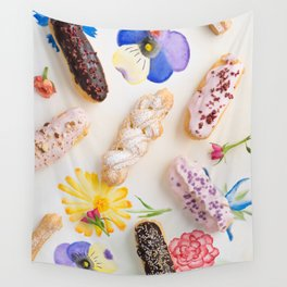 Eclairs with toppings Wall Tapestry