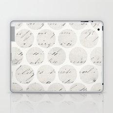 vintage polka dots Laptop & iPad Skin