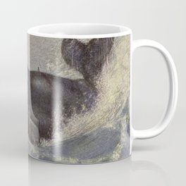 Vintage Sperm Whale Painting (1909) Coffee Mug