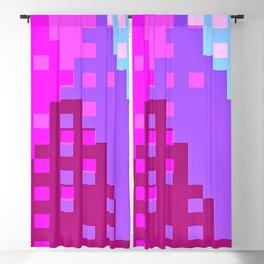 colorful city Blackout Curtain