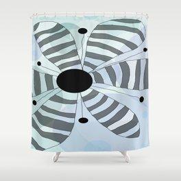 FLOWERY HOLLY/ ORIGINAL DANISH DESIGN bykazandholly Shower Curtain