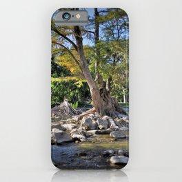 Guadalupe River at Gruene iPhone Case