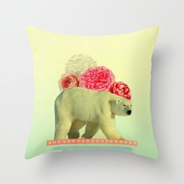 messenger in disguise Throw Pillow
