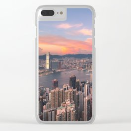 HONG KONG 15 Clear iPhone Case