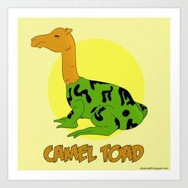 The Camel Toad Art Print