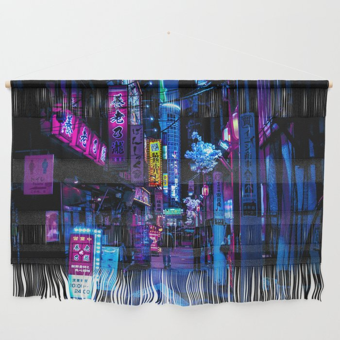 Tokyo's Blade Runner Vibes Wall Hanging
