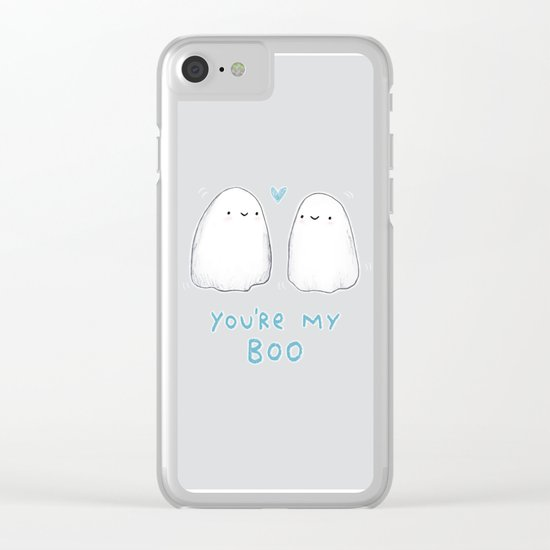 Spooky Love Clear iPhone Case
