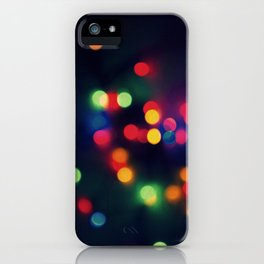 Lights of the Season iPhone Case