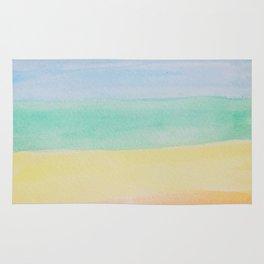 Chakra Watercolor Rug