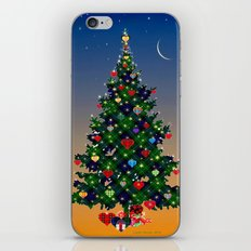 Make A Holiday Wish iPhone & iPod Skin