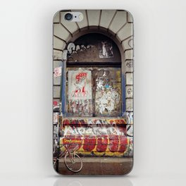 on the Bowery... iPhone Skin
