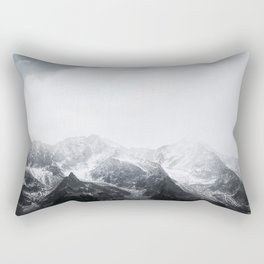 Morning in the Mountains - Nature Photography Rectangular Pillow