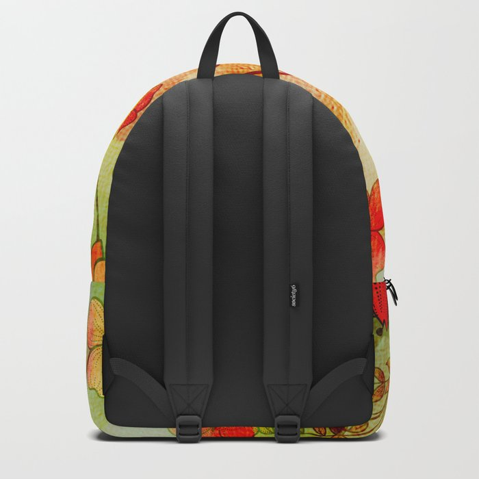 Wonderful coloraful flowers Backpack