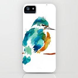 Golden Kingfisher iPhone Case