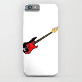 Fretless Bass Guitar iPhone Case