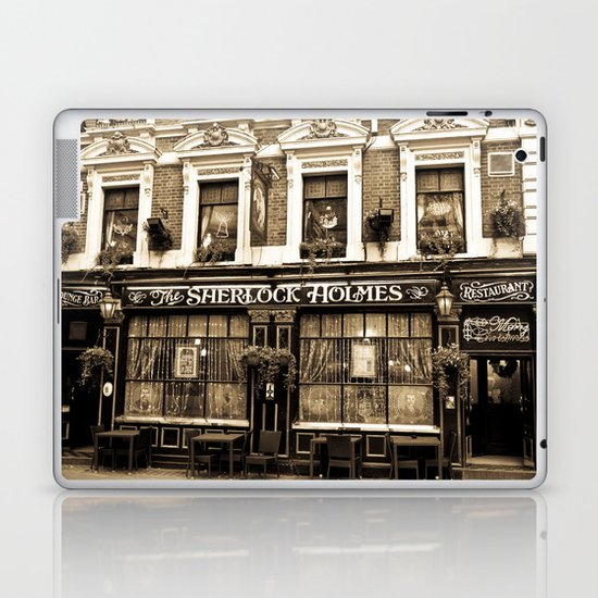 The Sherlock Holmes Pub London Laptop & iPad Skin