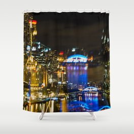 Yarra Night Dreamings Shower Curtain
