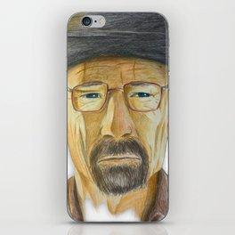 Heisenberg Drawing iPhone Skin