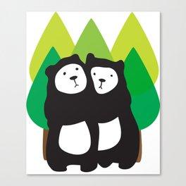 Bear Hug Canvas Print