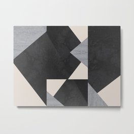Abstract geometric puzzle Metal Print