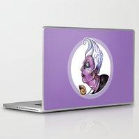 ursula Laptop & iPad Skins featuring Dark Diva – Ursula by Sam Pea