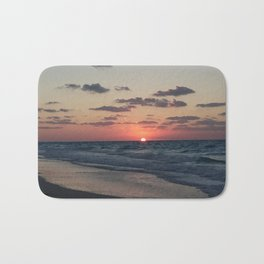 northern coast egypt sunset 4 Bath Mat