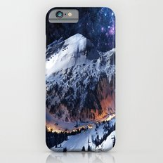 Mountain CALM IN space view iPhone 6s Slim Case