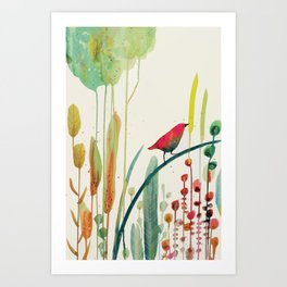 to sing for Art Print