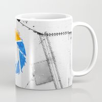aperture Mugs featuring Aperture Vandal by Toronto Sol