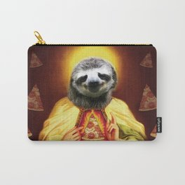 Holy Pizza Sloth Lord Jesus All over big print Animal Savior Carry-All Pouch