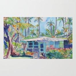 Kauai Blue Cottage 2 Rug