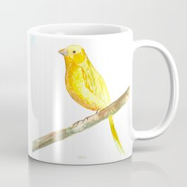 Aquarela Canarinho Coffee Mug
