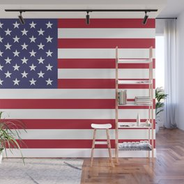 USA National Flag Authentic Scale G-spec 10:19 Wall Mural