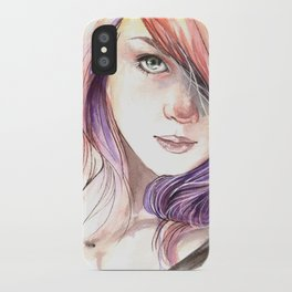 Lass iPhone Case