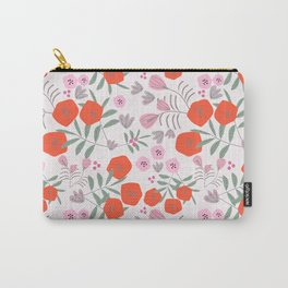 Summerflor Red Carry-All Pouch