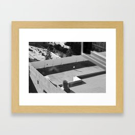 From the roof top Framed Art Print