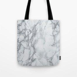 Gray Blue Granite Tote Bag