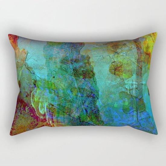 Abstract Texture 05 Rectangular Pillow