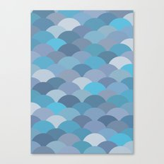 Circles Abstract 6 Canvas Print