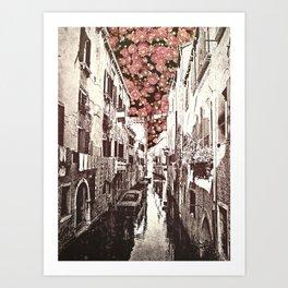fiori di Venezia Art Print
