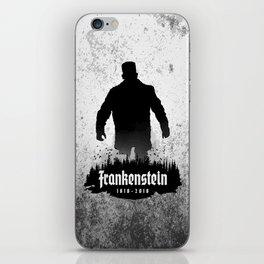 Frankenstein 1818-2018 - 200th Anniversary iPhone Skin
