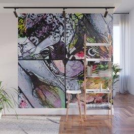 Afloat - Mixed Media Acrylic Abstract Modern Art, 2015 Wall Mural