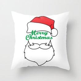 Hilarious & Joyful Xmas Tshirt Design Merry Christmas Everyone Throw Pillow
