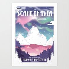 See Scandinavia Art Print