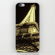 eiffel@night iPhone & iPod Skin