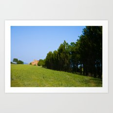 Orvieto Art Print
