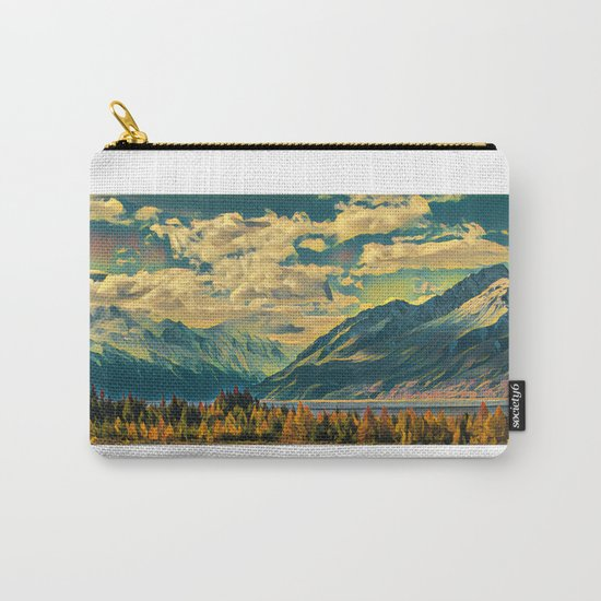 Cabin View Wilderness Carry-All Pouch