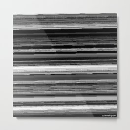 staticstrips 1AM Metal Print